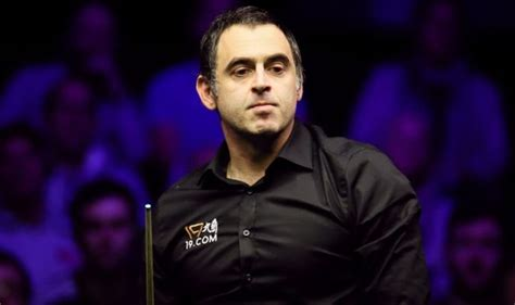 Ronnie O'Sullivan 'not bothered' about Northern Ireland ...