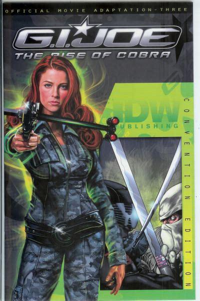 gi joe comic book archive idw rise  cobra