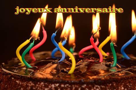 g 226 teau au chocolat bougie allum 233 e joyeux anniversaire carte de voeux gratuites images
