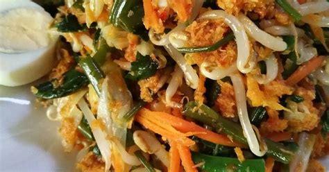 resep urap sayuran bumbu tumis enak  sederhana cookpad