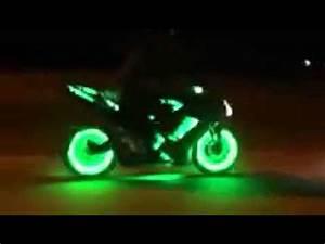 Led motorcycle wheels