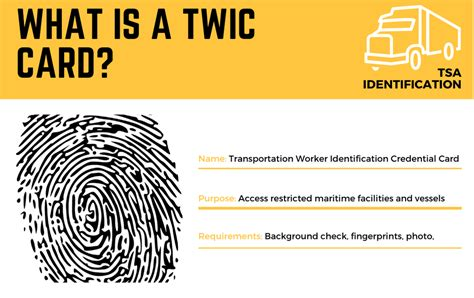 Twic stands for transportation worker identification credential. What is a TWIC Card and What Do You Need a TWIC Card For?