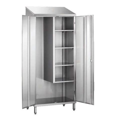 porte d 駘駑ent de cuisine armoire d 39 entretien toit penté 1 porte non doublée stl sarl materiels cuisine com