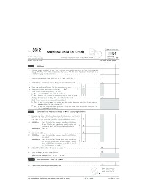 2004 form 8812 fill online printable fillable blank