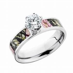 Cz camo engagement ring free shipping camokix for Mossy oak camo wedding rings for him