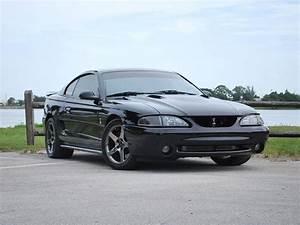 97 black mustang cobra (With images) | Black mustang, Mustang cobra, Mustang