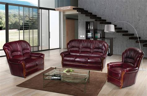 sara full leather sofas loveseats  chairs living room