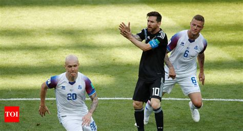 Fifa World Cup Iceland Hold Argentina Draw