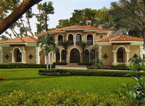 luxurious master suite mediterranean style home plan