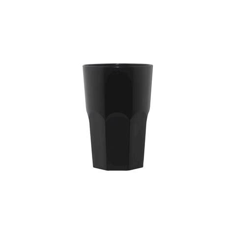 Bicchieri Granity by Bicchiere Policarbonato Granity Nero 40 Cl 210331 Rgmania