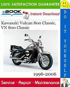 Kawasaki Vulcan 800 Classic  Vn 800 Classic Motorcycle