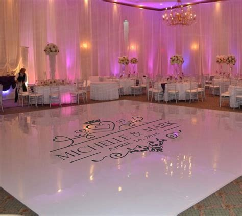 floor decor for weddings wedding dance floor decal wedding floor monogram vinyl floor