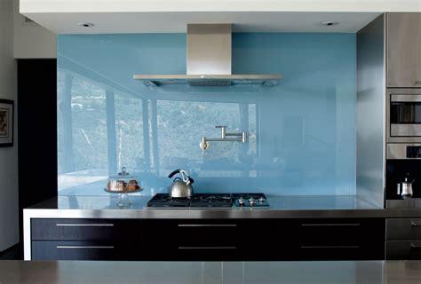 mirror backsplash in kitchen cool ways to update a kitchen with a glass backsplash 7529