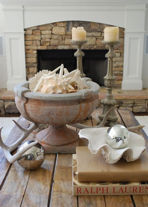 Beach house coffee tables with coastal style! 6 Approaches to Styling a Coffee Table