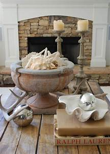 6 approaches to styling a coffee table tidbitstwine With coastal coffee table decor