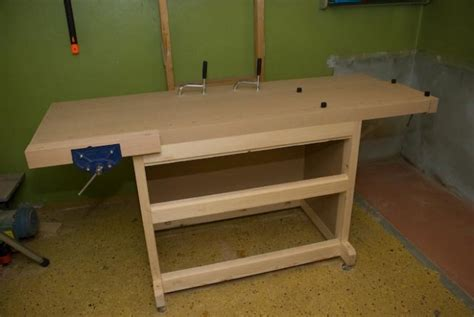 woodworking bench top table diy