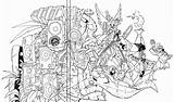 Slugterra Coloring Pages Ready Colour Chavos Cd Los Making Sketch Sommariva Imgarcade Credit Larger Line sketch template