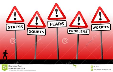 personal problems stock photography image