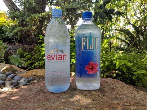 Evian vs FIJI: The Best Bottled Water Brand 2020