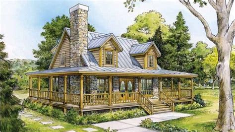 beautiful country home  wrap  porch hq plans metal building homes    dream