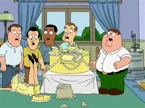 family guy birthday cake youtube