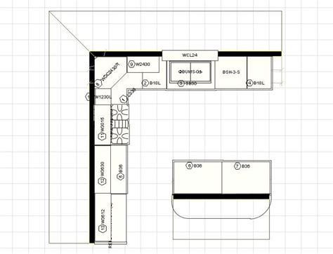 10x12 kitchen floor plans 12 x 12 kitchen layouts with floating island click on 3798