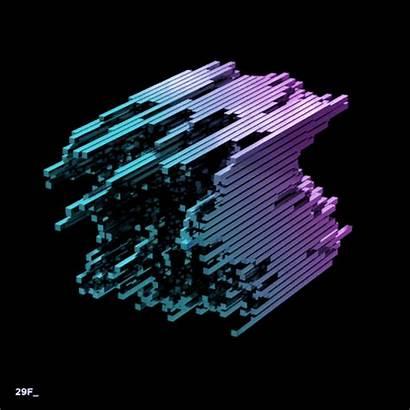 3d Vj Shape Graphic Motion Animation Form