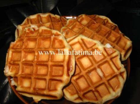 lalla fatima cuisine recettes de gaufres de la cuisine marocaine chez lalla fatima