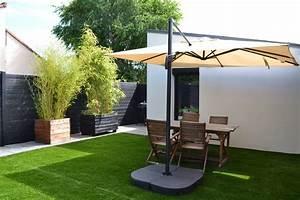 emejing jardin maison moderne gallery seiunkelus With amazing fontaine exterieure de jardin moderne 7 decoration terrasses jardins
