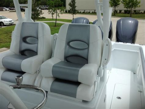 Lebroc Boat Chairs by Different Seats For The Leaning Post
