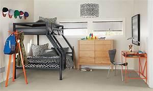 Etagenbett Für Kinder : kinderzimmer f r zwei kinder mit kompakten etagenbetten einrichten ~ Frokenaadalensverden.com Haus und Dekorationen