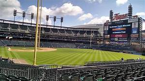 Comerica Park Section 108 Detroit Tigers Rateyourseats Com