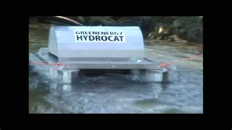 mini electric generator hydrocat the floating free energymaker