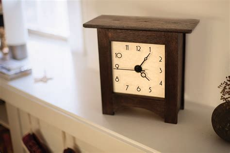 Mantel Clock With Free Printable Dial