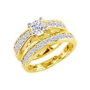gold wedding ring set bridal sets gold bridal sets wedding rings