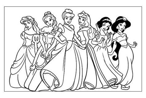immagini da colorare principesse disegni da colorare in bianco e nero galleria di immagini
