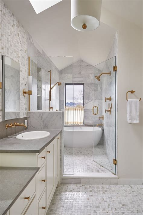 ideas for small bathrooms makeover an fixer in bellevue gets a beautiful