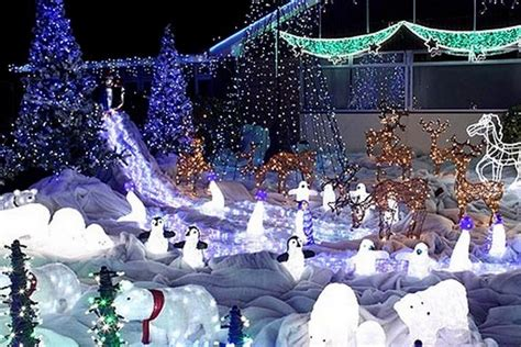 2017 light displays cloverdale surrey