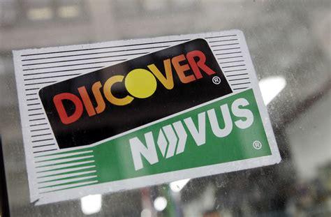 Discover Novus Logo - LogoDix