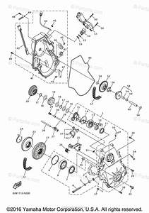 Yamaha Snowmobile 2014 Oem Parts Diagram For Track Drive 2