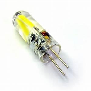 Ampoule G4 Led : ampoule led g4 2 led cob 12 ac dc led effect ~ Edinachiropracticcenter.com Idées de Décoration