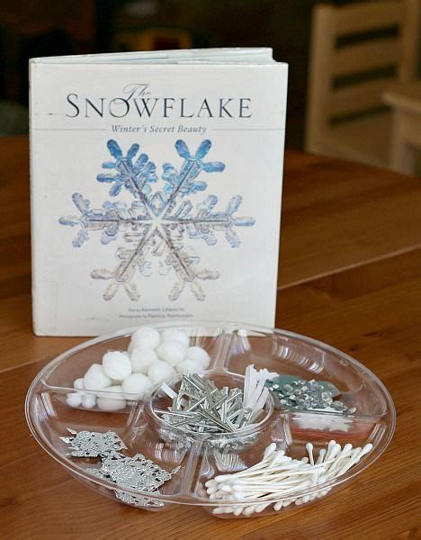 symmetrical snowflake winter craft for winter theme 624   7aeb4ca18838d83d0d14c0df581fe20e