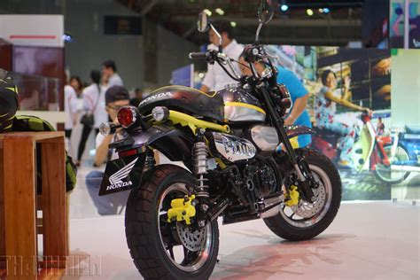 Gas Monkey Motorcycle by Honda Monkey 125 Concept At 2017vietnam Motorcycle Show
