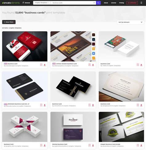 creative business card templates colorful unique
