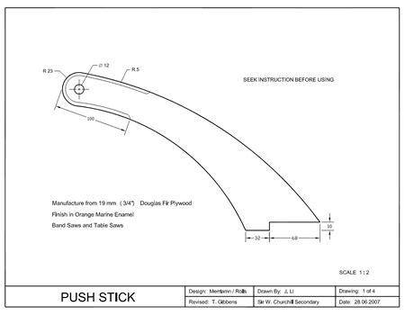 push stick template swc electronics lab