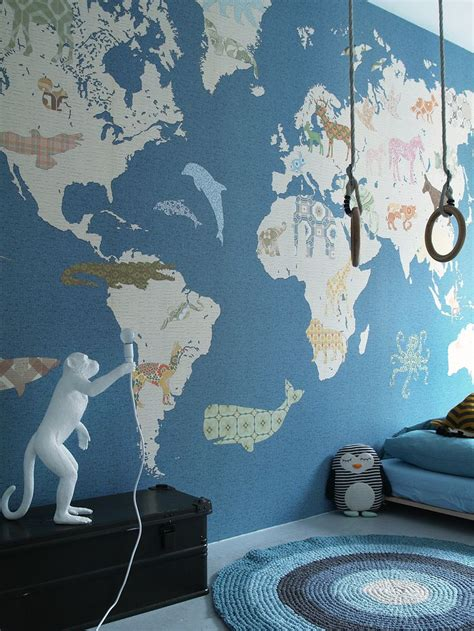 Amazing Wall Print Collection By @inkeheiland (world Map