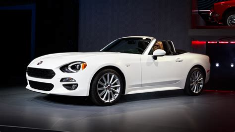 2017 Fiat 124 Spider Release Date, Price And Specs