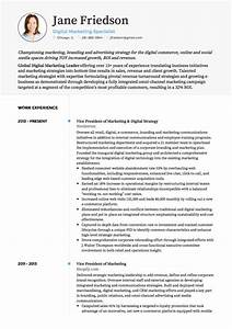 marketing cv examples and template With cv template for marketing job