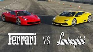Ferrari Vs Lamborghini : ferrari vs lamborghini youtube ~ Medecine-chirurgie-esthetiques.com Avis de Voitures
