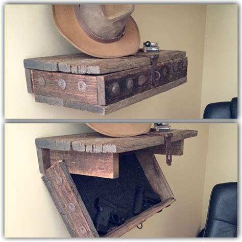 hidden gun shelf concealment pinterest hidden gun guns  shelves